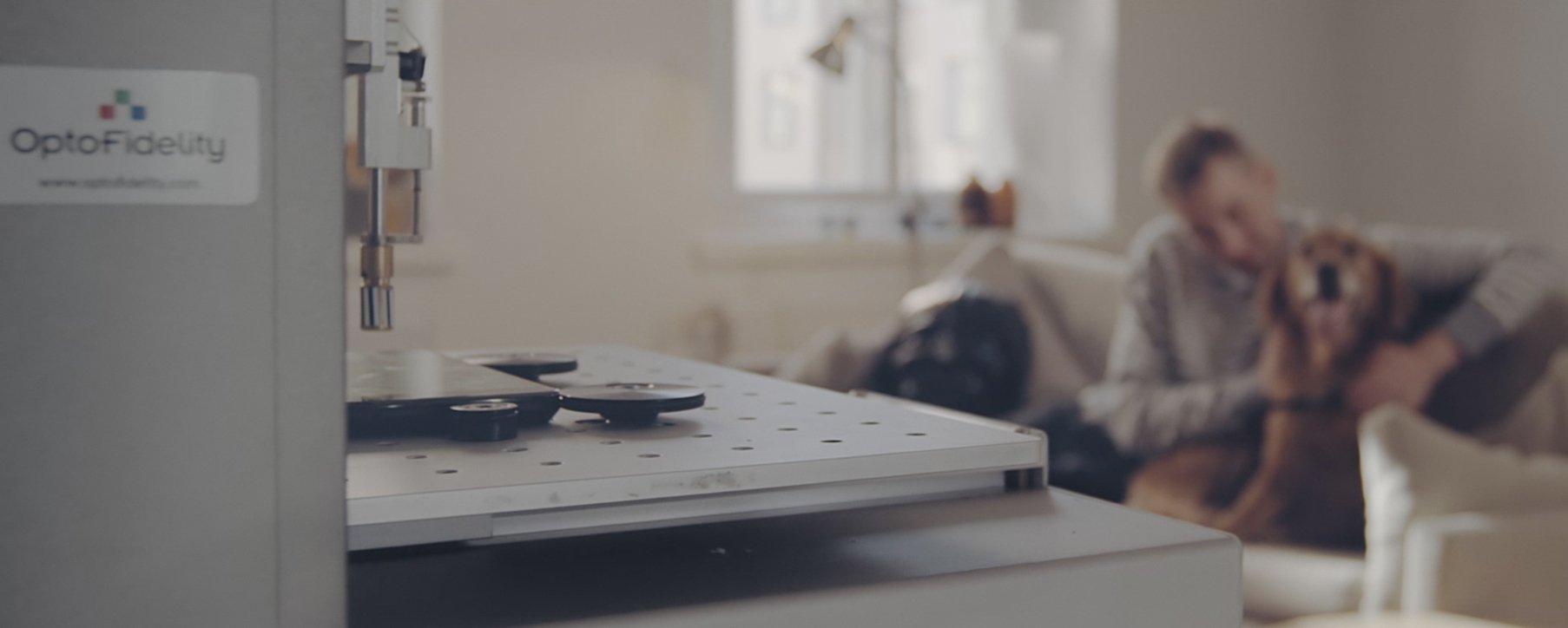Robot+man+dog